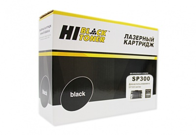Картридж Hi-Black (HB-SP300) для Ricoh Aficio SP 300DN, 1,5K
