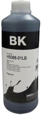 Чернила HP InkTec H5088_01LB Black, пигмент, 1 литр
